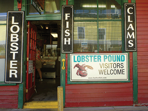 45. lobster pound