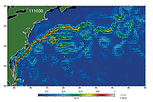 Gulf Stream, Altimetry, 11 03 11