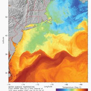 Gulf Stream, North, 06 20 07