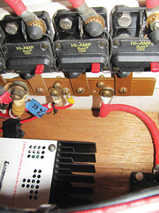 Photo4 Completed Project Circuit Breakers, Bus Bars, dump regulator