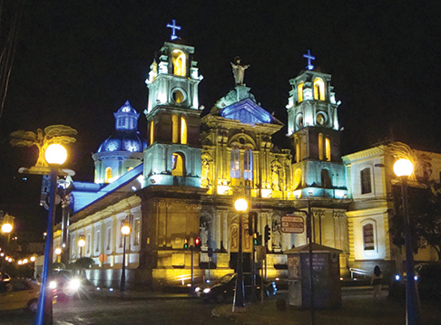 There is a lot of fabulous old architecture in Ecuador