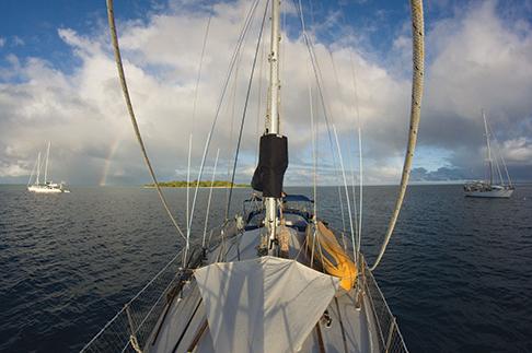 Rainbow over Namani