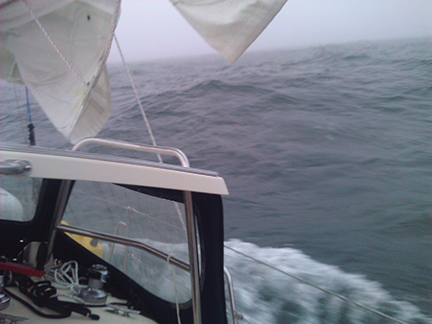 2.1 Seas picking up