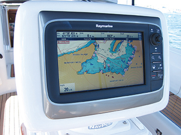 raymarine screen