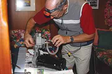 watermaker servicing
