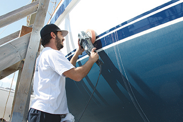 9. Hull Polishing