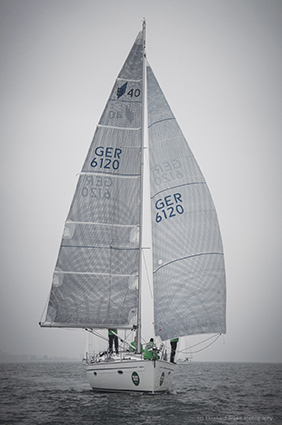 Modern Elvstrom laminated sails win regattas