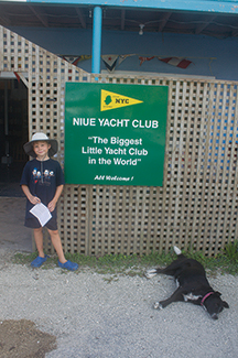 Niue Yacht Club truly makes cruisers feel welcome