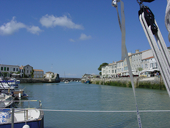 Saint Martin en Re, France is well worth the trouble of waiting for the tide and the gates to open
