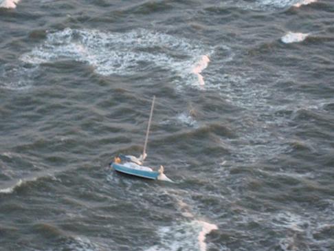 Coast Guard rescues three mariners