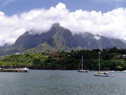 After a 35 day passage from the Galapagos to Marquesas, Hiva Oa was a welcome sight