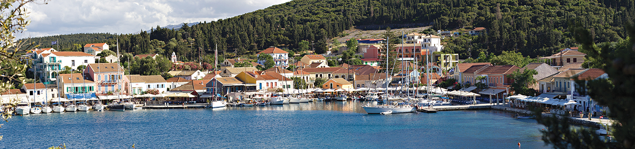Fiscardo on the northern tip of Cephalonia