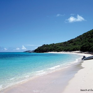Beach at Eustatia Sound