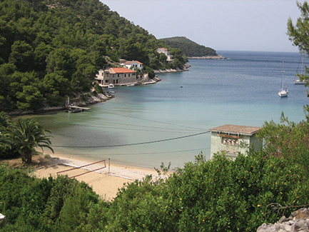 Stoncica Bay island of Vis