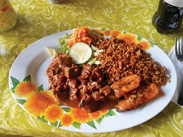 lunch platter with plaza bieu