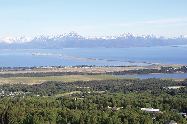 View of Homer Spit