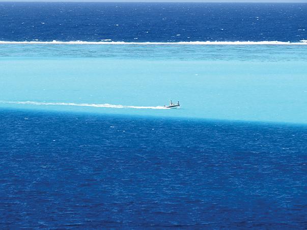 Huahine Reef, Tahiti