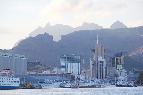 Mauritius - entering Port Louis