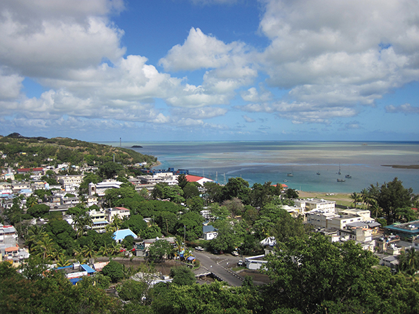 Rodrigues - Port Mathurin and harbor