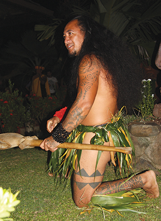 Nuka Hiva. The Marquesans are proud of their heritage and their tattoos