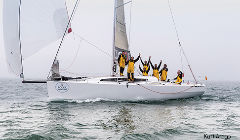 COURRIER DU LEON, FRA 43772, Owner / Skipper: Géry Trentesaux, Design: JPK 10.80, Class: IRC 3
