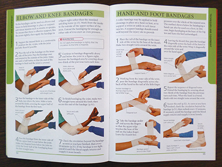 Easy to Follow First Aid Book