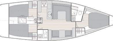 Catalina 425 layout