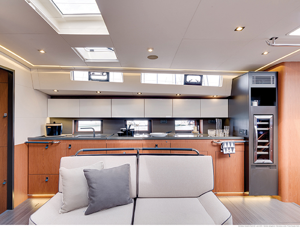 Beneteau 62 galley