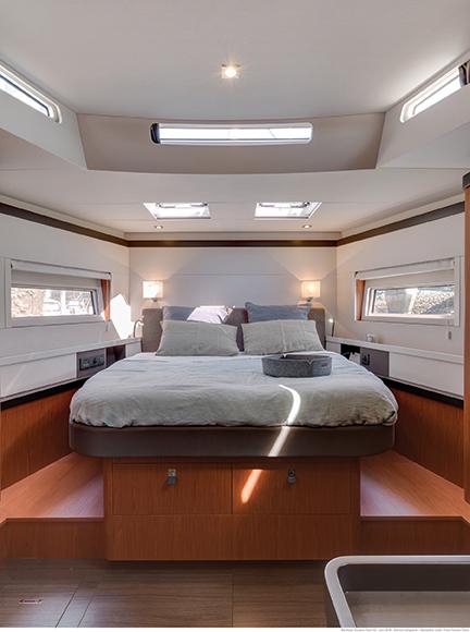 Beneteau 62 master cabin
