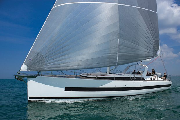 Beneteau 62 sailing