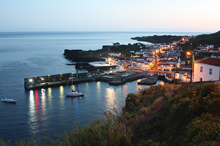 Early evening in Ribeira, Pico