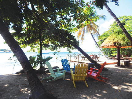 Flowt Beach Bar, Blue Lagoon, St Vincent