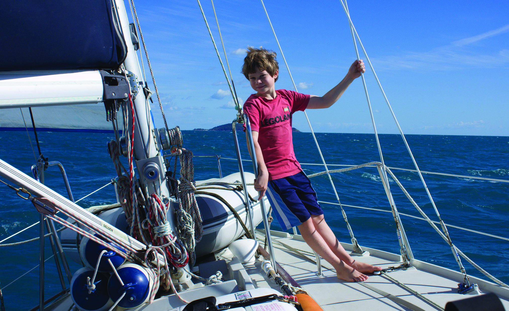 Savoring every moment of the quiet sailing life
