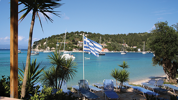 Lakka, northern port of Paxos