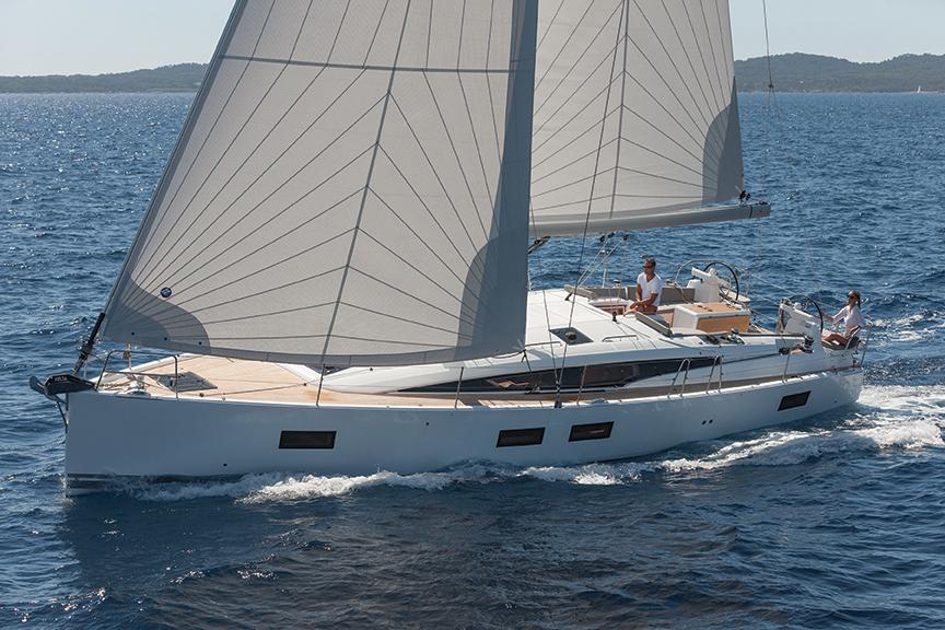 Jeanneau 51 Blue Water Sailing