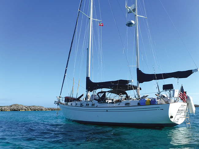 Silent Running – Blue Water Sailing