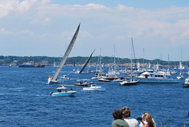 Newport-Bermuda-start