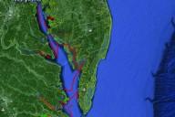 chesapeake map