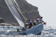 Yacht Cheeki Rafiki Capsized / Antigua Sailing Week
