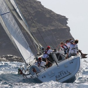 Yacht Cheeki Rafiki Capsized / Antigua Sailing Week