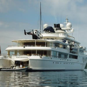 Local Input~ Paul Allen's super yacht  The MV Tatoosh  Credit: Seastar357/Wikipedia