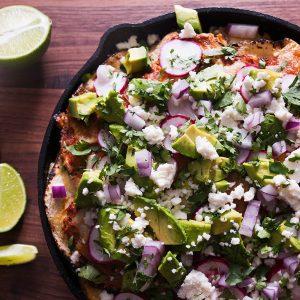 Feature-Enchilada-Tortilla-Chicken-Casserole-Roasted-Tomato-Salsa-Recipe