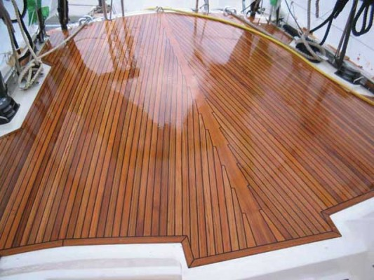 The Truth About Teak Decks Cruising Compass