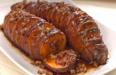 Hasselback-Maple-Pecan-Sweet-Potatoes
