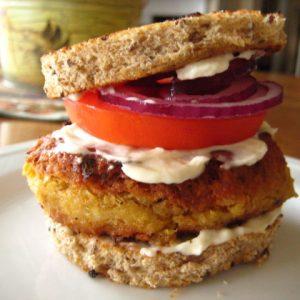 chickpea-burger