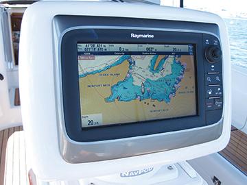 raymarine screen