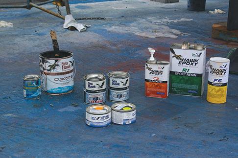 various paints