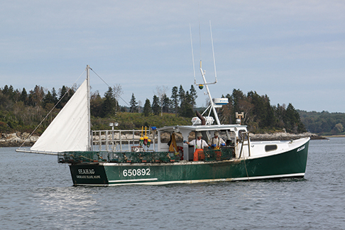 MAINE LOBSTERBOAT