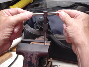 Photo1 Constructing copper bus bars