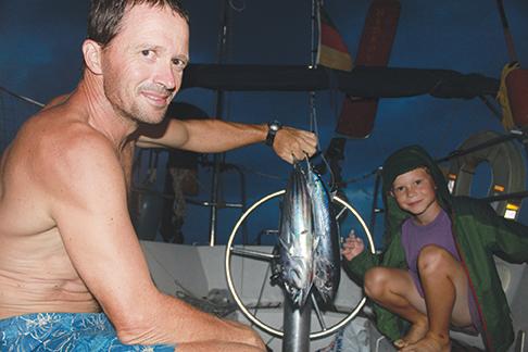 Namani's crew lands two tunas